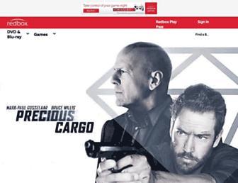 redbox.com screenshot
