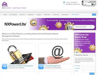 pillar-solutions.com screenshot
