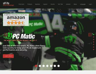 pcpitstop.com screenshot