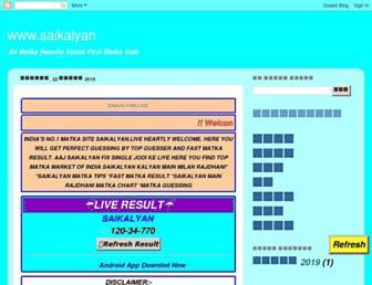 sattamatkablogaddress.blogspot.com screenshot