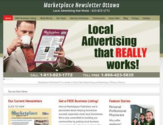 marketplacenewsletter.com screenshot