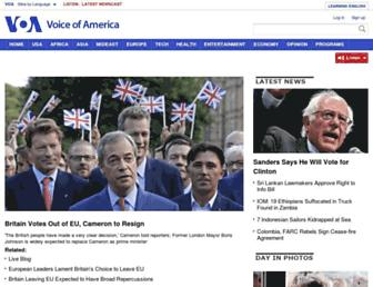 Thumbshot of Voanews.com
