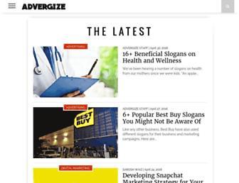 advergize.com screenshot