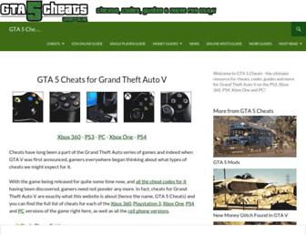 Thumbshot of Gta5cheats.com