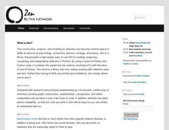 zen.networkdynamics.org screenshot