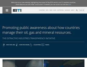 eiti.org screenshot