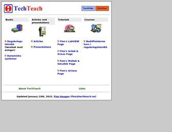 techteach.no screenshot