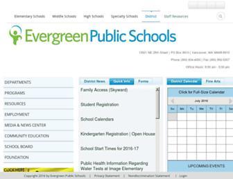 Thumbshot of Evergreenps.org