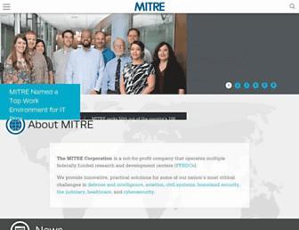 mitre.org screenshot