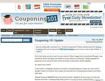 Thumbshot of Couponing101.com