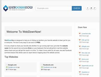 webdownnow.com screenshot