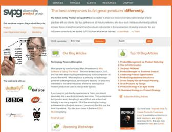 Thumbshot of Svpg.com