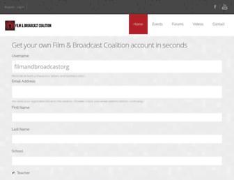 filmandbroadcast.org screenshot