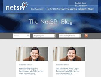 blog.netspi.com screenshot