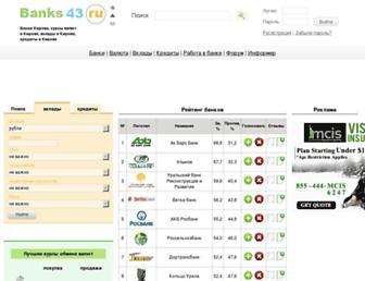 banks43.ru screenshot