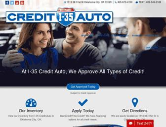 i35creditauto.com screenshot