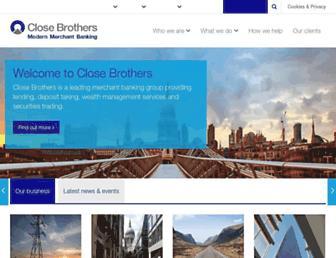 closebrothers.com screenshot