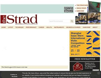 thestrad.com screenshot