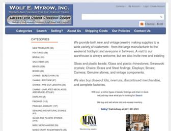 closeoutjewelryfindings.com screenshot