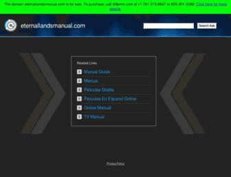 eternallandsmanual.com screenshot