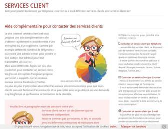 services-client.net screenshot