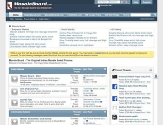 Thumbshot of Masalaboard.com