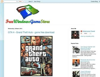 freewindowsgamestore.blogspot.com screenshot