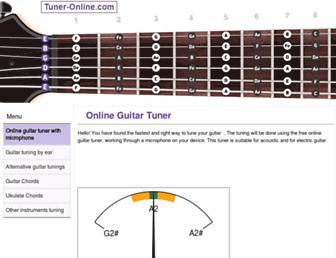 tuner-online.com screenshot