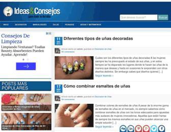 ideasyconsejos.com screenshot