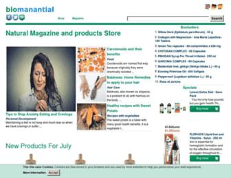 Thumbshot of Biomanantial.com