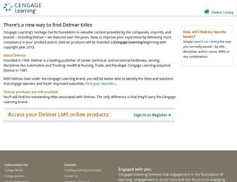 delmarlearning.com screenshot