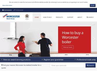 Thumbshot of Worcester-bosch.co.uk