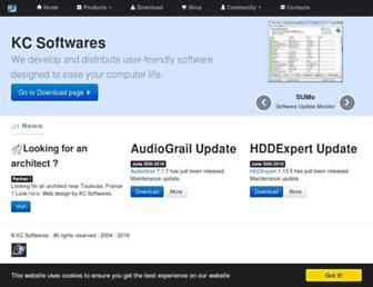 kcsoftwares.com screenshot