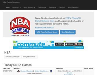 nbagamesim.com screenshot