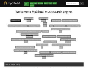 Thumbshot of Mp3total.com