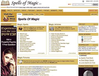 Thumbshot of Spellsofmagic.com