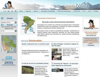 info.caserita.com screenshot