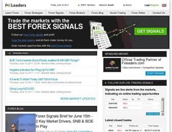 fxleaders.com screenshot
