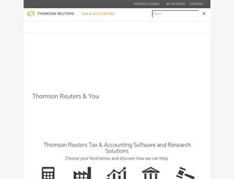 tax.thomsonreuters.co.uk screenshot