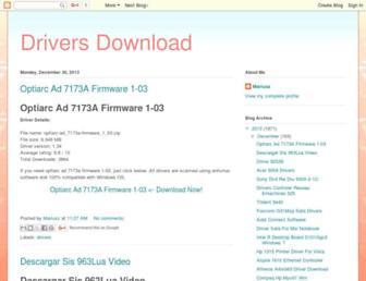 drivers009.blogspot.com screenshot