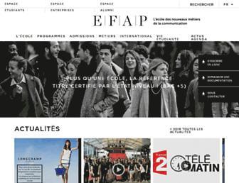 efap.com screenshot