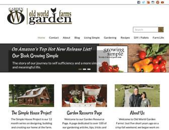 oldworldgardenfarms.com screenshot