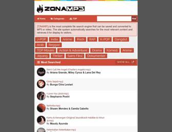 zonamp3.indowap.org screenshot