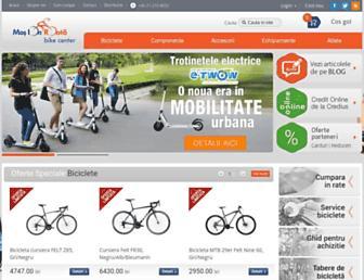 Main page screenshot of mosionroata.ro
