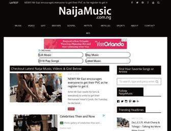 naijamusic.com.ng screenshot