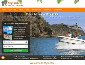 mytanfeet.com screenshot