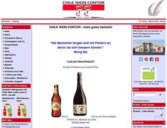 Main page screenshot of cwc.de
