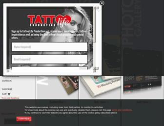 tattoolife.com screenshot