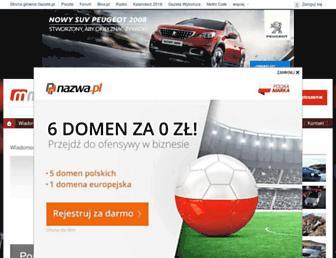 Main page screenshot of moto.pl
