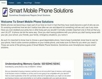 smartmobilephonesolutions.com screenshot